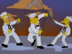 The Simpsons 09x19 : Simpson Tide- Seriesaddict